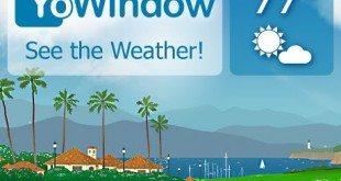 تحميل تطبيق الطقس Yowindow weather للاندرويد والايفون