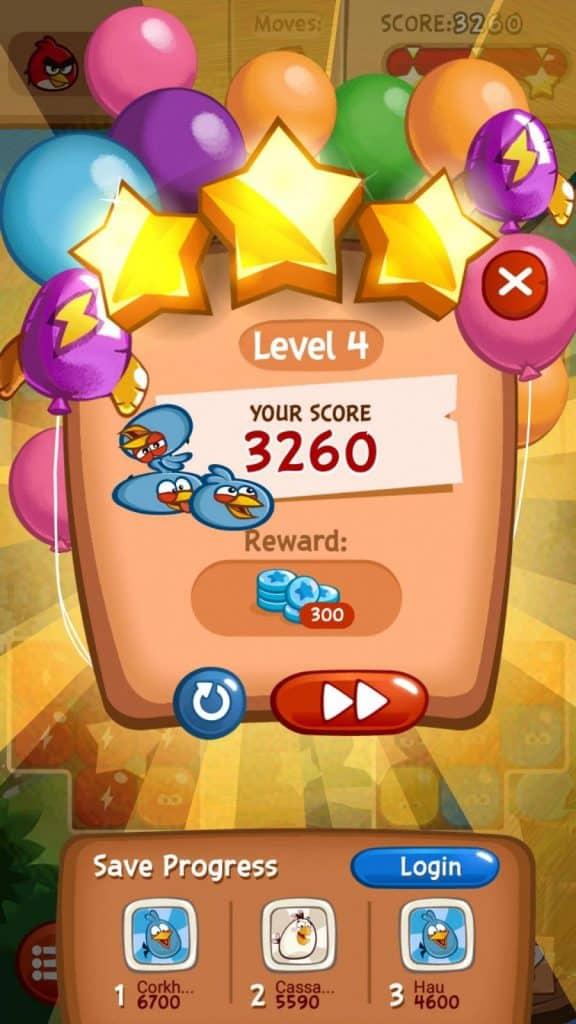 شرح لعبة  Angry Birds Blast