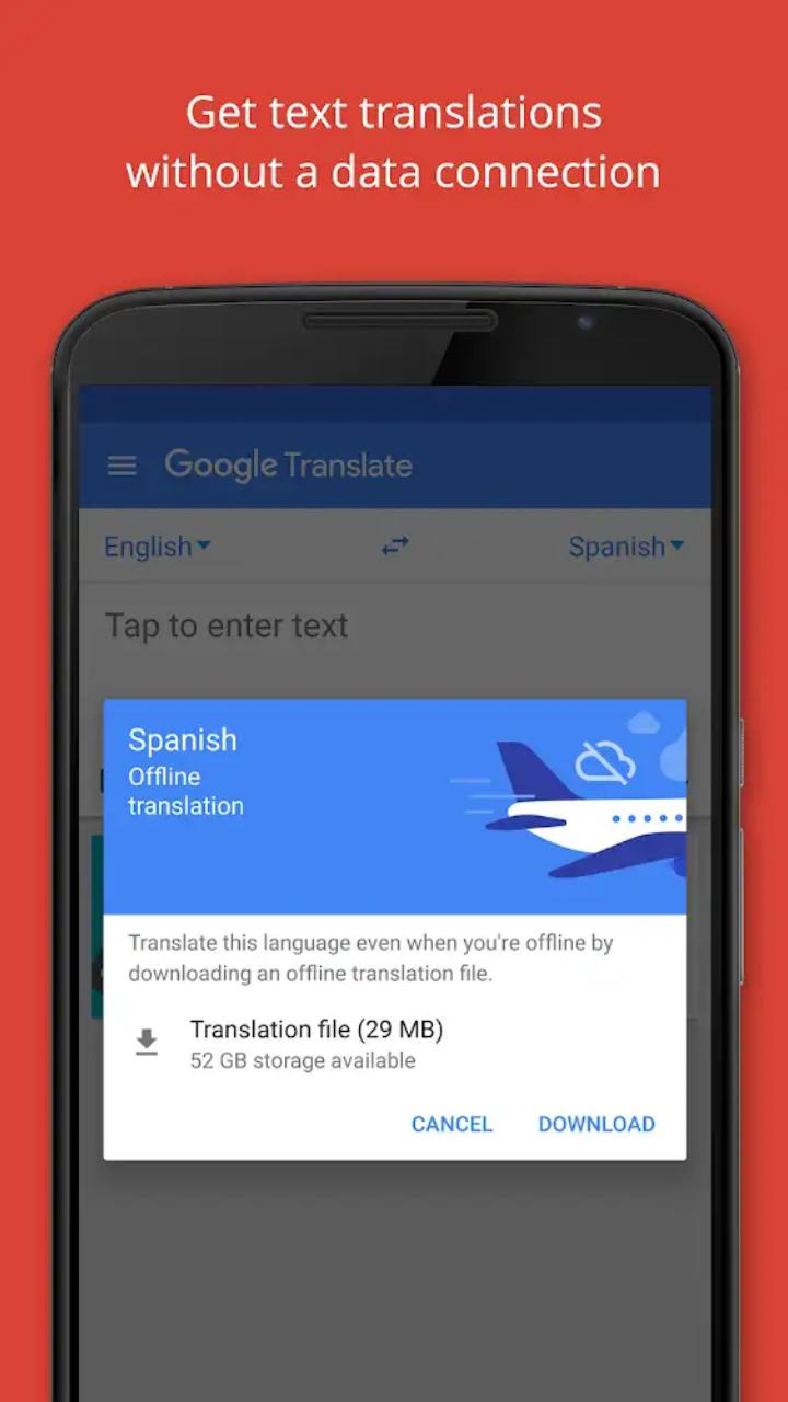 يمكنك الترجمة عبر قوقل لاكثر من 70 لغة عالمية