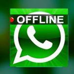 طريقة اخفاء اخر ظهور في الواتس اب و حالة متصل الان offline on whatsapp