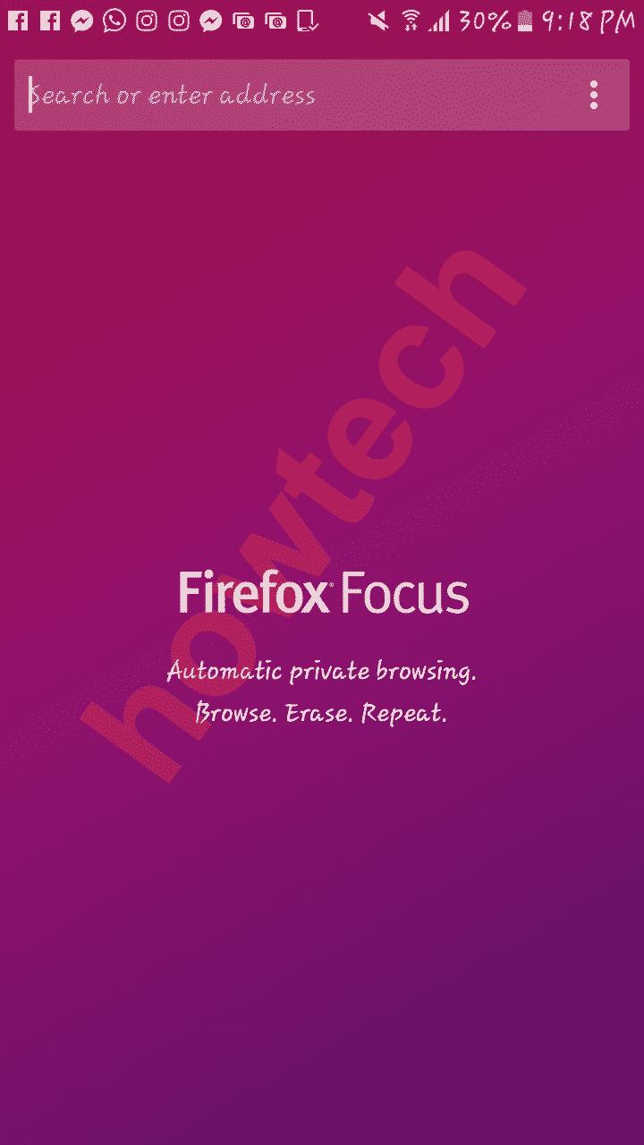 تحميل المتصفح الخاص فيرفوكس فوكس