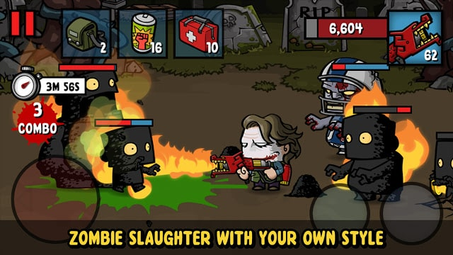 قتال الزومبي Zombie Age 3