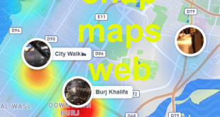 snap maps web سناب ماب من الويب