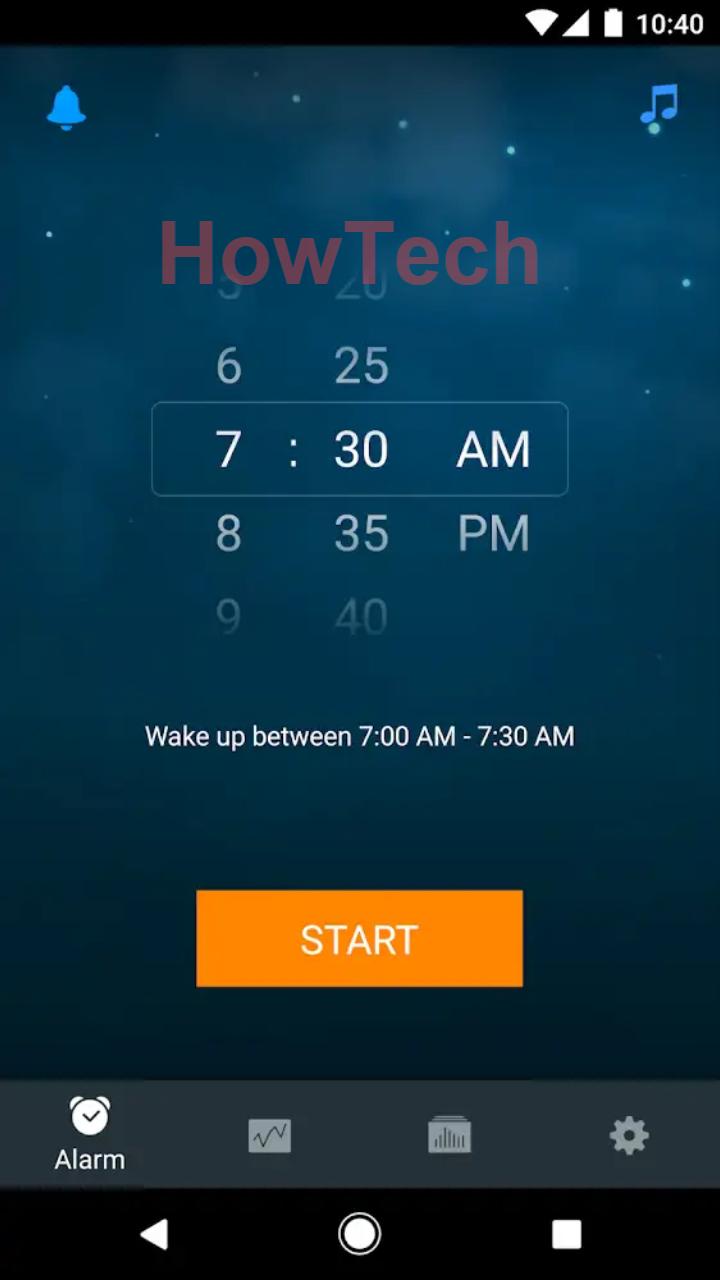 اختيار الوقت الانسب لايقاظك Sleep Cycle