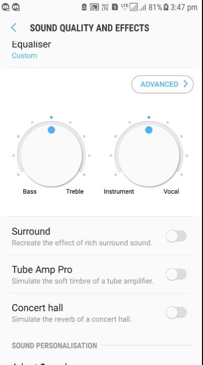 مميزات جودة الصوت و الموسيقى
