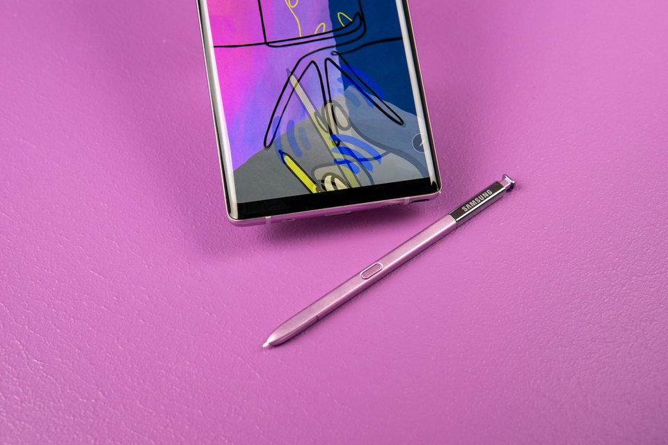 قلم S Pen في هاتف Note 9
