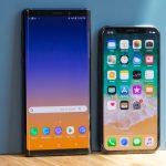 مقارنة بين تصميم ومواصفات هاتف Galaxy Note 9 و iPhone X أيهما يستحق الشراء