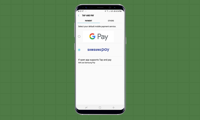 تفعيل خدمة خدمة Samsung Pay