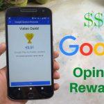 أحصل على رصيد جوجل بلاي مجانا باستخدام Google Opinion Rewards