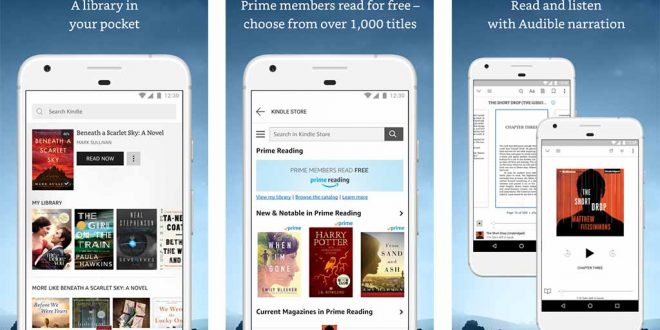 أفضل تطبيقات الكتب الإلكترونية